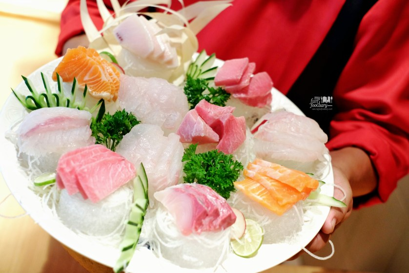 Fresh Sashimi Platter at Kim Sat Gat by Myfunfoodiary