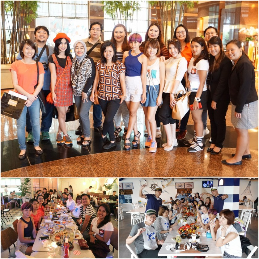 Had Fun with the other bloggers in Singapore