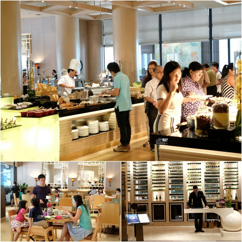 Ambiance during buffet lunch at Oscar Restaurant Conrad Centennial Singapore by Myfunfoodiary