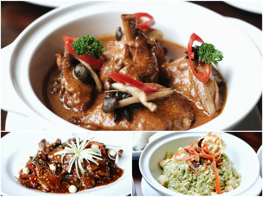 Chicken Curry - Beef Daun Jeruk - Nasi Cabe Ijo at Grand Mercure Kemayoran by Myfunfoodiary