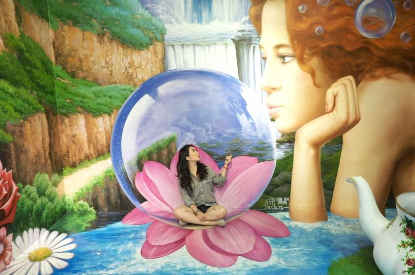 Flower Ball at Trick Eye Museum Singapore by Myfunfoodiary