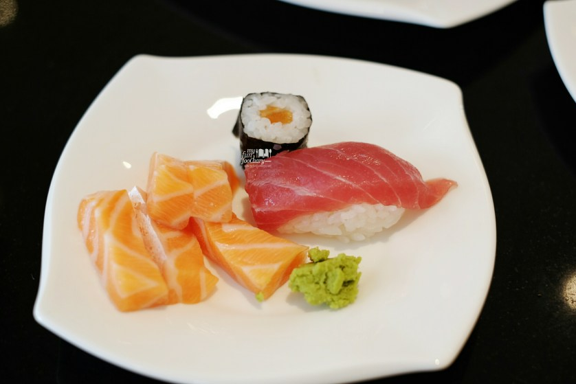 Fresh Sushi and Sashimi at Oscar Restaurant Conrad Centennial Singapore by Myfunfoodiary