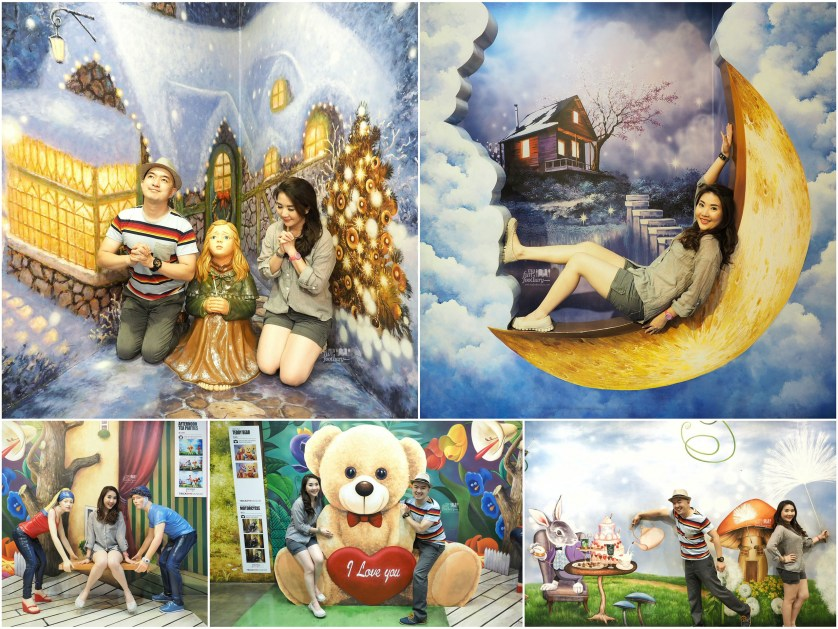 Little Match Girl - Moon over the Sky - Tea Time - Teddy Love at Trick Eye Museum Singapore by Myfunfoodiary