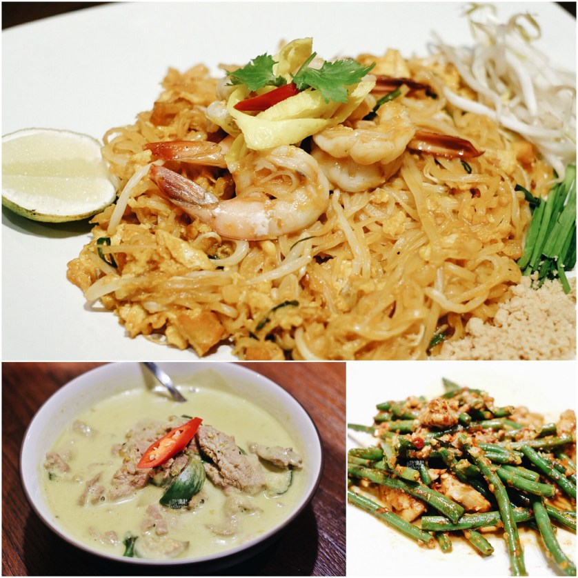 Pad Thai - Green Curry - Beans at Tom Tom PIK by Myfunfoodiary