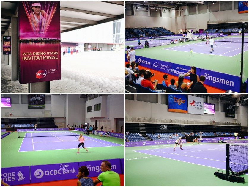 Practice Court at Singapore Sports Hub by Myfunfoodiary