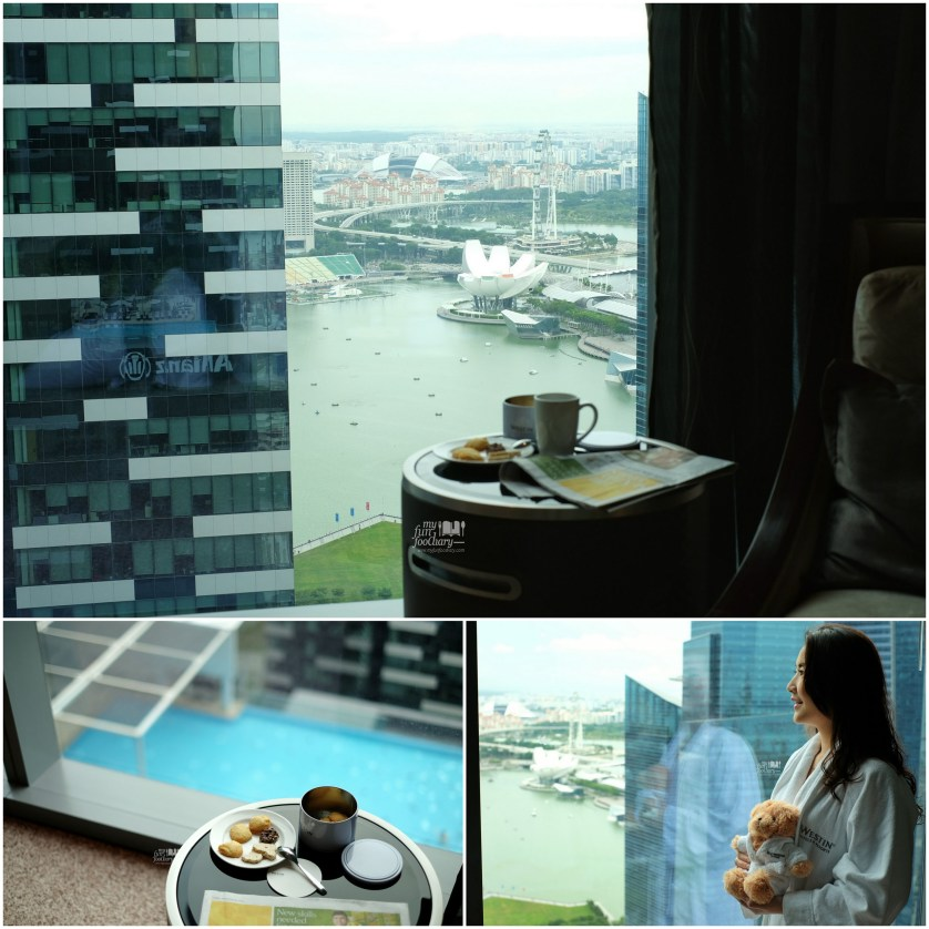 Stunning View to Marina Bay from my room at Westin Singapore by Myfunfoodiary