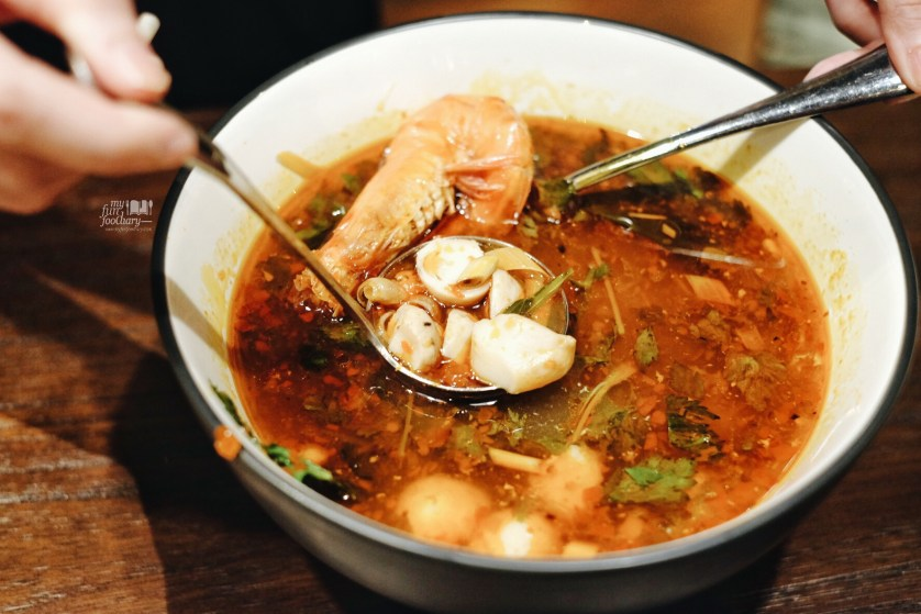 Tom Yum Kung at Tom Tom PIK by Myfunfoodiary