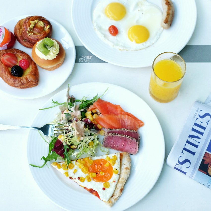 Buffet Breakfast at The Line Shangri-La Singapore day 1 by Myfunfoodiary