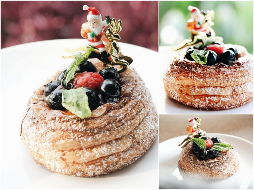 Xmas Rouge at Del' Immo Patisserie BSD by Myfunfoodiary collage