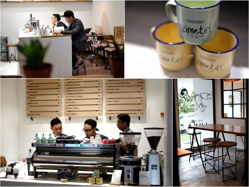 Ambiance inside Simetri Coffee Puri Indah by Myfunfoodiary