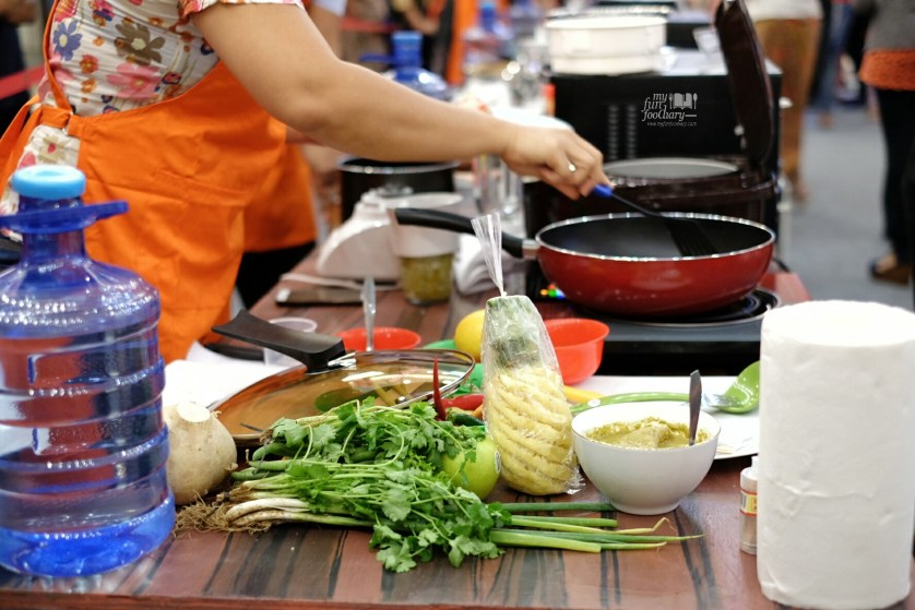 Behind the scene Cooking Competition by Myfunfoodiary