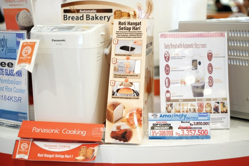 Bread Maker Panasonic by Myfunfoodiary