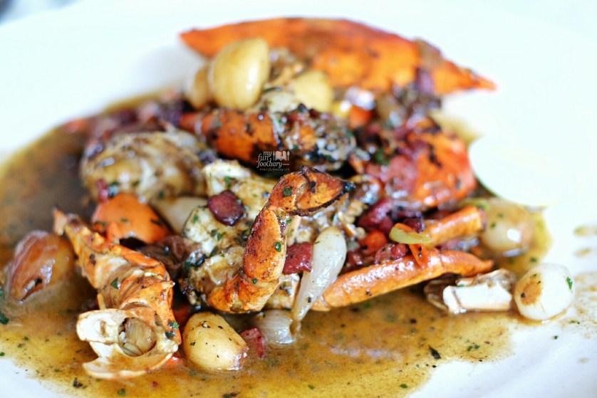 Kepiting Jantan Saus Bawang at Layar Seafood Jakarta by Myfunfoodiary 01