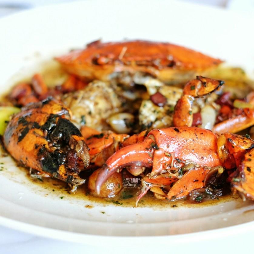Kepiting Jantan Saus Bawang at Layar Seafood Jakarta by Myfunfoodiary 04