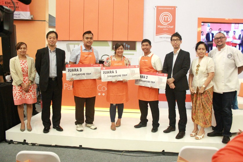 Winners of Panasonic Cooking Competition by Myfunfoodiary