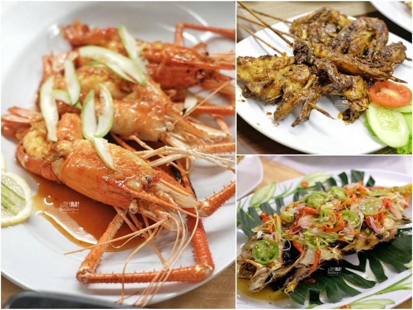 Lobster - Ayam Bakar at Taman Santap Rumah Kayu Ancol by Myfunfoodiary