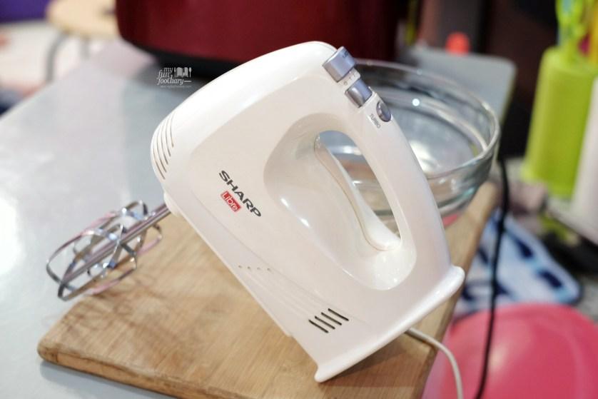 Sharp Hand Mixer by Myfunfoodiary