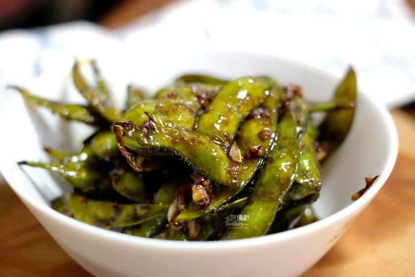 Spicy Garlic Edamame Homecooked by Myfunfoodiary 01