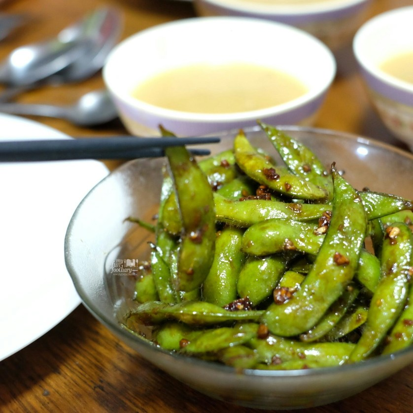 Spicy Garlic Edamame Homecooked by Myfunfoodiary 02