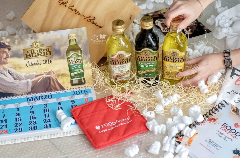 Filippo Berio Olive Oil from Italy for Mullie Myfunfoodiary
