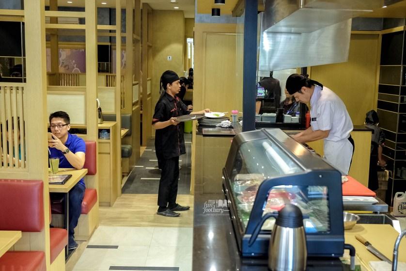 Sushi Bar at Tsubohachi by Myfunfoodiary