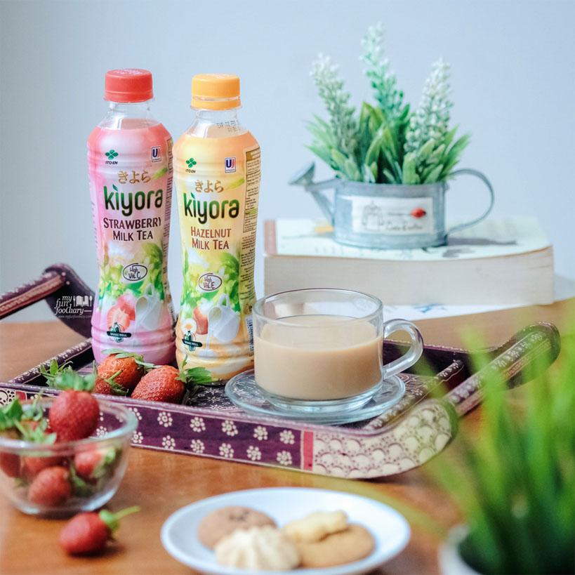 Kiyora Milk Tea Strawberry and Hazelnut by Myfunfoodiary