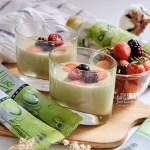 [RECIPE] Allure Green Tea Latte Dessert Creation – Matcha Pudding