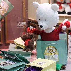 [NEW] Hotel Christmas Marionette Teddy Bear Direct from France at Mall Taman Anggrek
