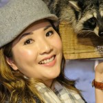[KOREA] Raccoon Cafe at Blind Alley Cafe, Seoul