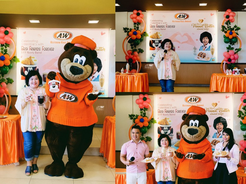 Welcoming and Opening Speech by Elizabeth Sundjaja Exterior look of A&W Restoran Cipete by Myfunfoodiary