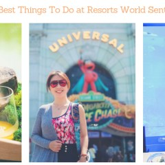 [SINGAPORE] Top 10 Things To Do in Resorts World Sentosa Travel Guide
