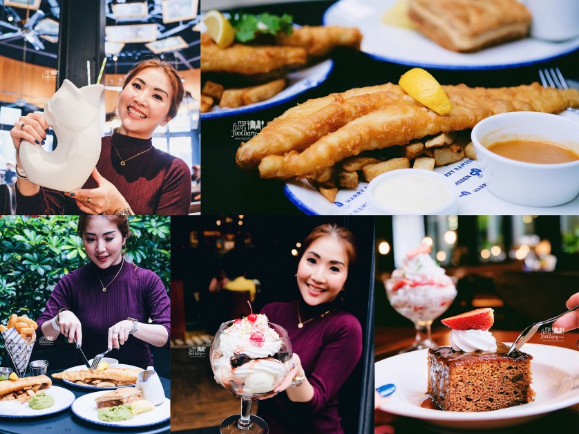 Close up Haddock Fish - Eton Mess - Super Sundae - Veggie Pie - Rose Lemonade at The Laughing Fish by Harry Ramsden Genting Malaysia by Myfunfoodiary