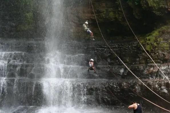 san gil waterfall