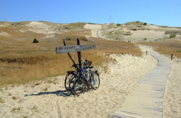 curonian spit between lithuania and russia