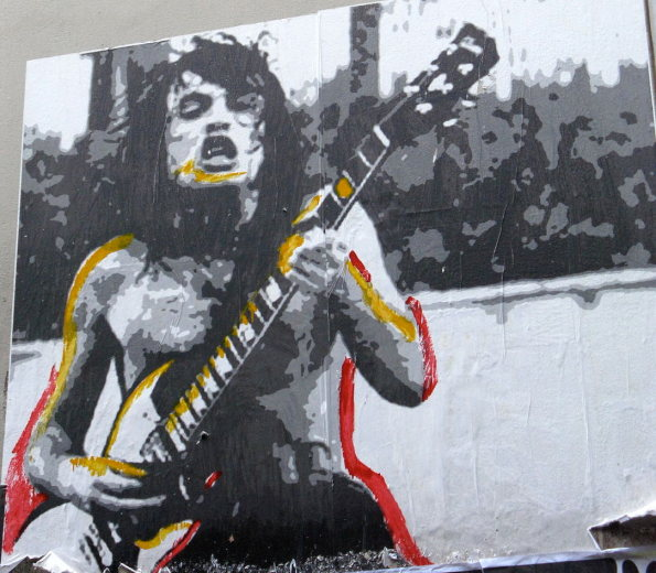melbourne ACDC street art