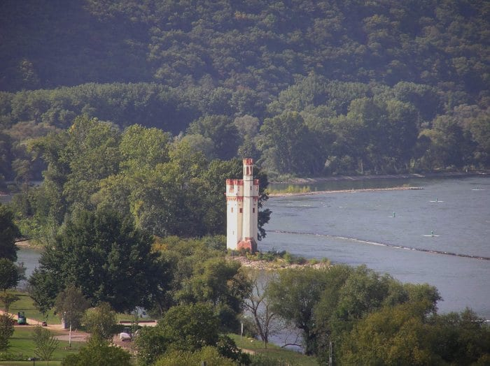 Rhein River in Germany