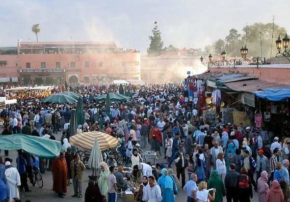 Marrakech backpacking route