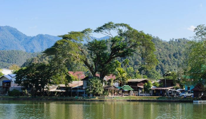 Backpacking route for Northern Thailand
