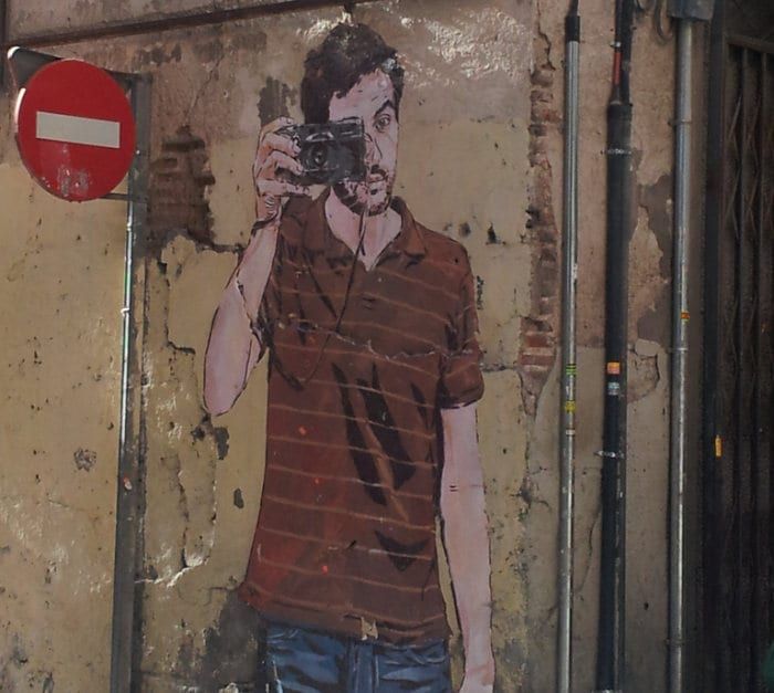 street art in Madrid