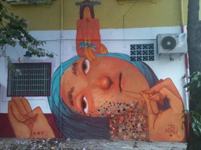 Street art in Brazil