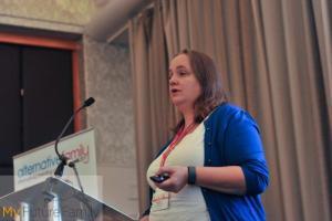 Venessa Smith, The London Women's Clinic delivering a seminar