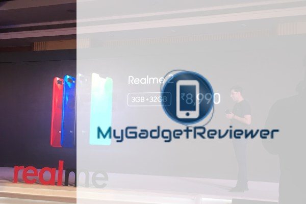 RealMe 2 Launched with Notch Display , Price in India , Full Specs and Features