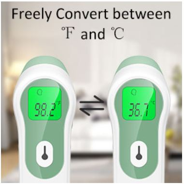 JUMPER Infrared Forehead Thermometer2