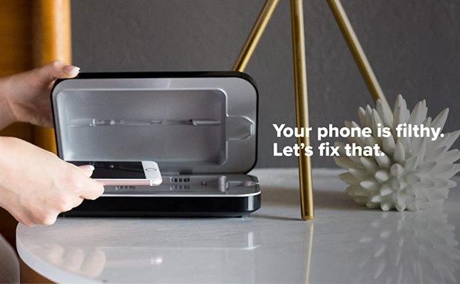 PhoneSoap 3 UV Smartphone Sanitizer Universal Charger