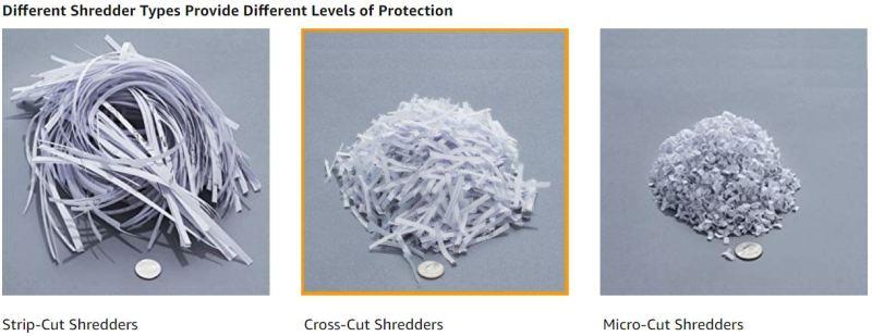 AmazonBasics 8 Sheet Cross Cut Paper Shredder 1 1