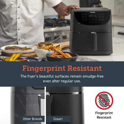 COSORI Air Fryer Programmable Base for Air Frying
