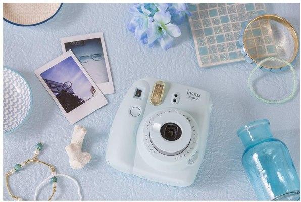 Fujifilm instax Mini 9 Instant Camera Ice Blue 1