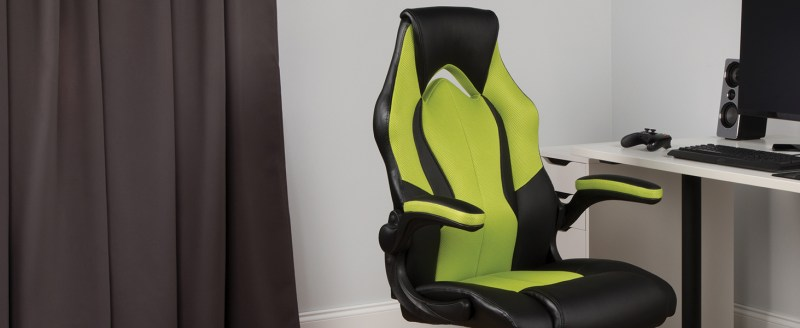 OFM Essentials High Back Racing Leather Gaming Chair 1