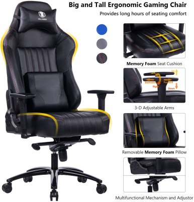 VON RACER Memory Foam Gaming Chair