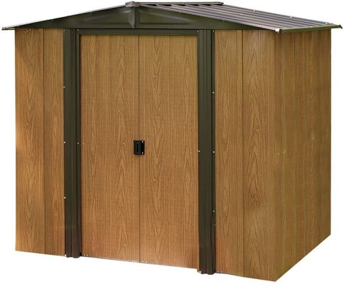 Outdoor Steel Storage Shed
